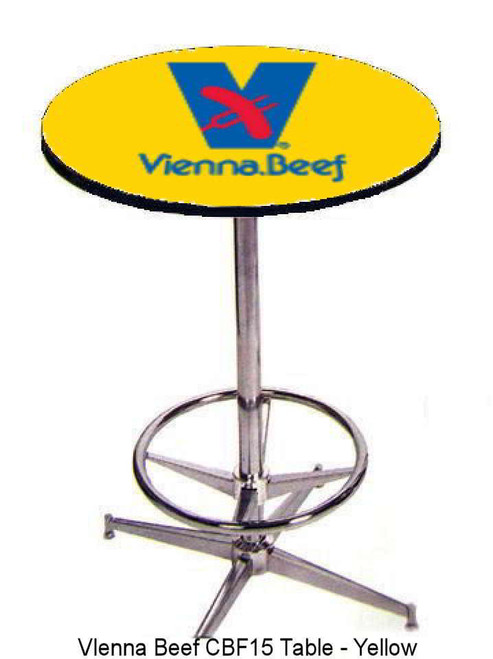 Seats and Stools' commercial-grade Custom Logo Pub Tables are perfect for promoting your business at trade shows, corporate meetings, or retail counters. Our Custom Logo Pub Tables are also great additions to restaurants, bars or clubs. Your custom logo is printed on a protected polycarbonate laminate top for a high-quality visual that won't wear off. Pair your table with a matching Custom Logo Stool or Chair.