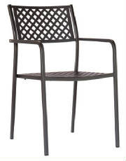 The Lola Outdoor Metal Stacking Chair Will Be Perfect For Your Restaurant,  Bar Or Home
