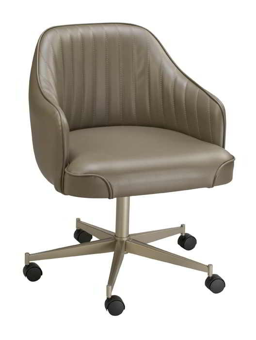 Mid Century Modern Armchair Saddle Bucket Chair