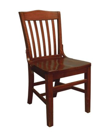 Wooden Schoolhouse Chair Old School Style Chair
