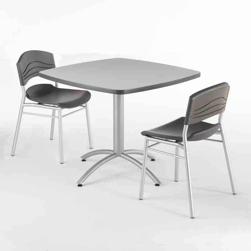 Iceberg Cafeworks Bistro Table And Chair Set Seats And