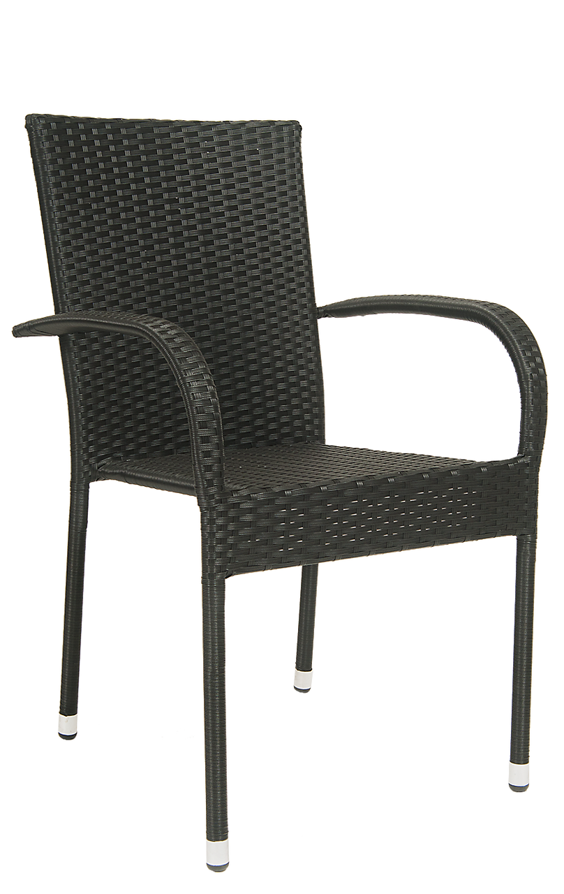 Rattan Outdoor Dining Chairs Rattan Dining Chairs With Arms