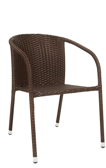 Furnish Your Home, Restaurant Or Baru0027s Patio With This Outdoor Steel Rattan  Chair In Black
