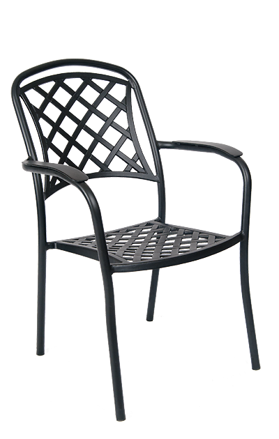 Add Style To Your Home, Restaurant Or Bar Patio With This Outdoor Armchair.  Features