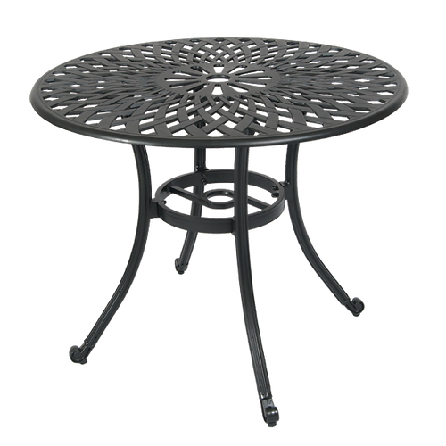 Round Aluminum Patio Table 36 Inch Patio Table