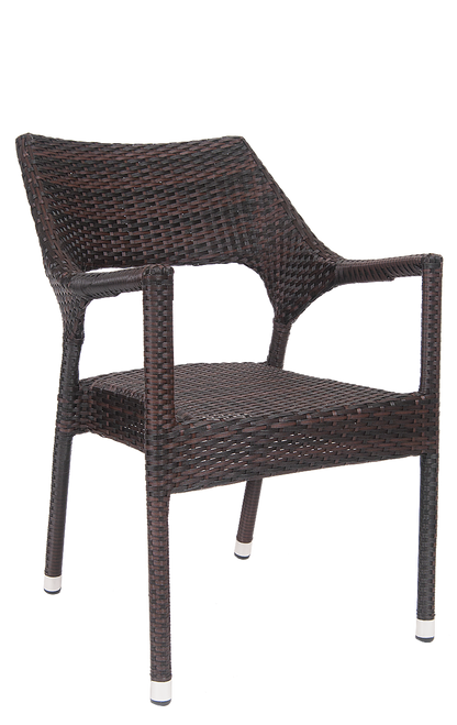 This Outdoor Aluminum/synthetic Wicker Armchair Is Perfect For Your Summer  Patio. Ideal For
