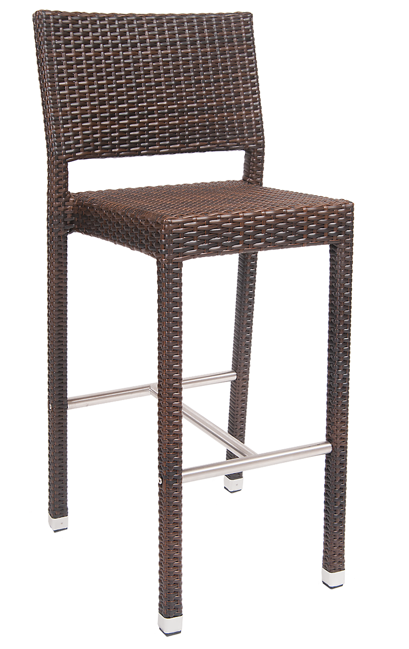 Noble Poly Woven Outdoor Bar Stool Seats And Stools
