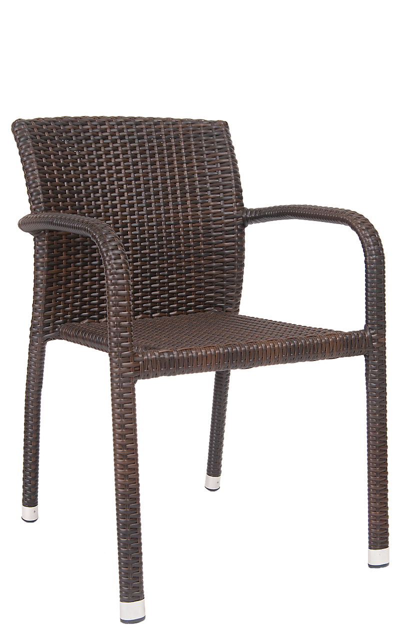 Cornell Synthetic Wicker Outdoor Armchair Seats And Stools