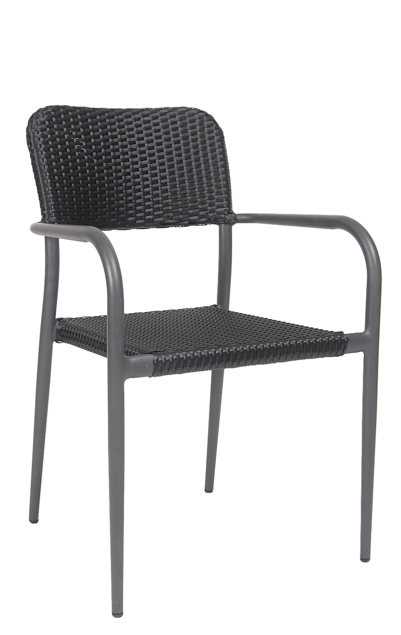Black Woven Outdoor Chair Woven Chairs For Sale