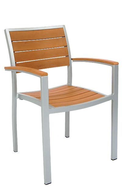 Outdoor dining chairs with arms outdoor restaurant chairs for Outdoor furniture wellington