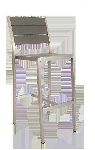 aluminum outdoor bar stool gray bar stool seats stools