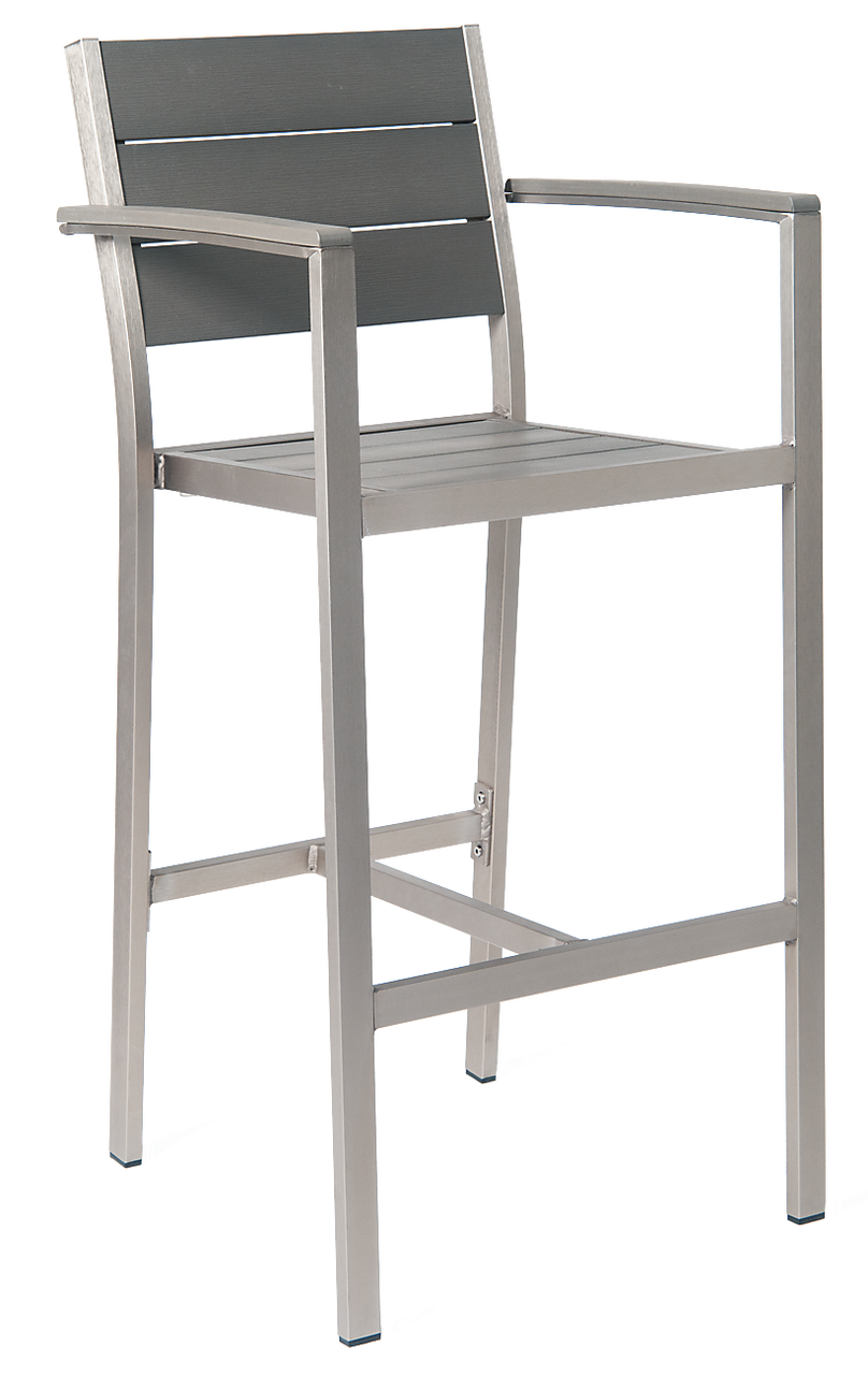 Outdoor Aluminum Bar Stool Bar Stool With Arms