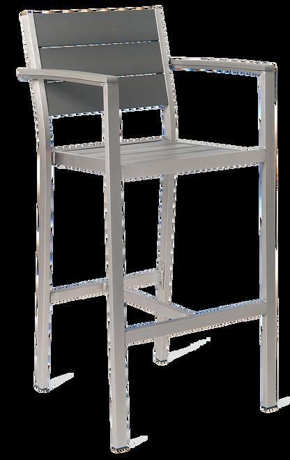 outdoor aluminum bar stool bar stool with arms