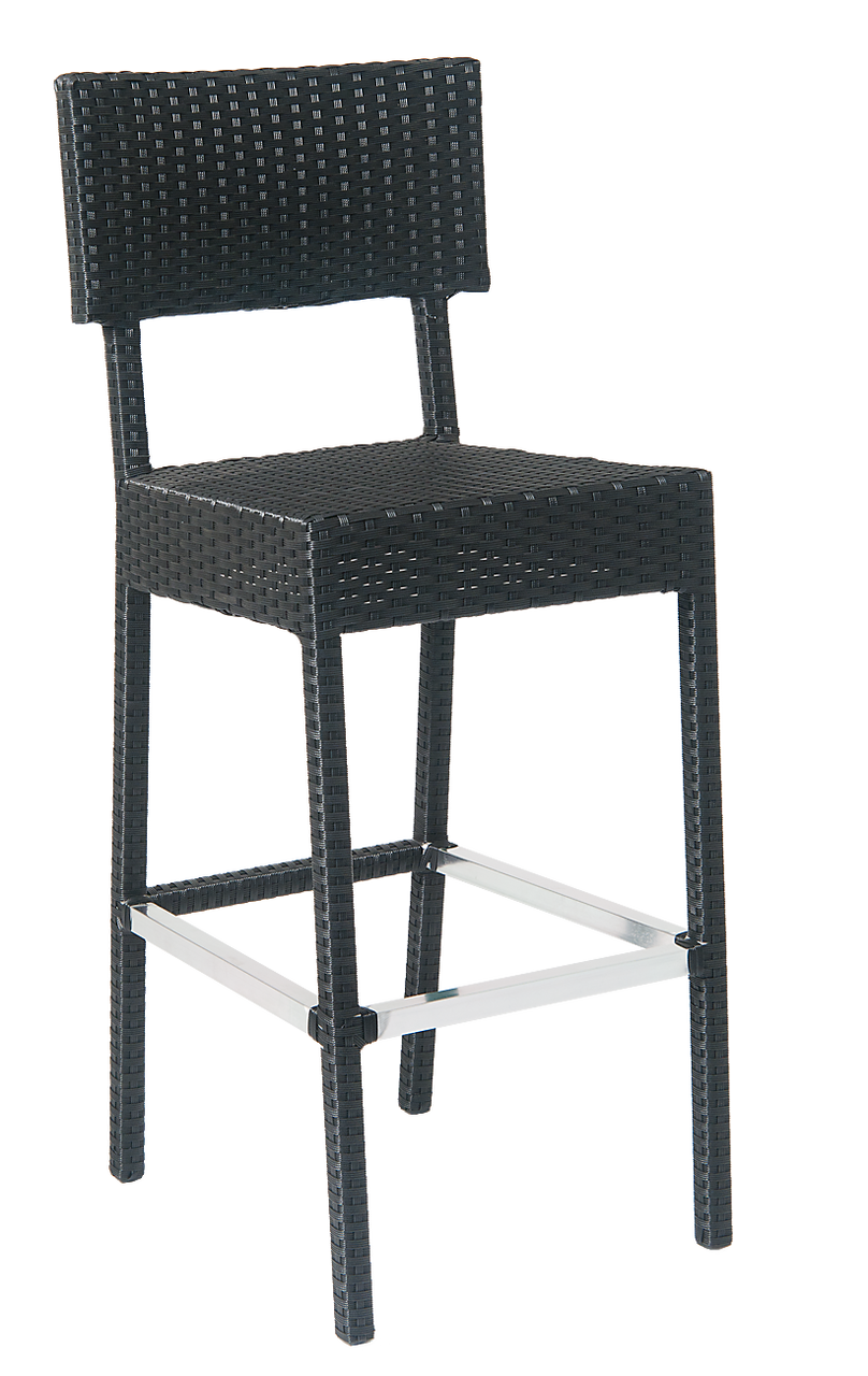 Outdoor Wicker Bar Stools With Backs Armless Bar Stools
