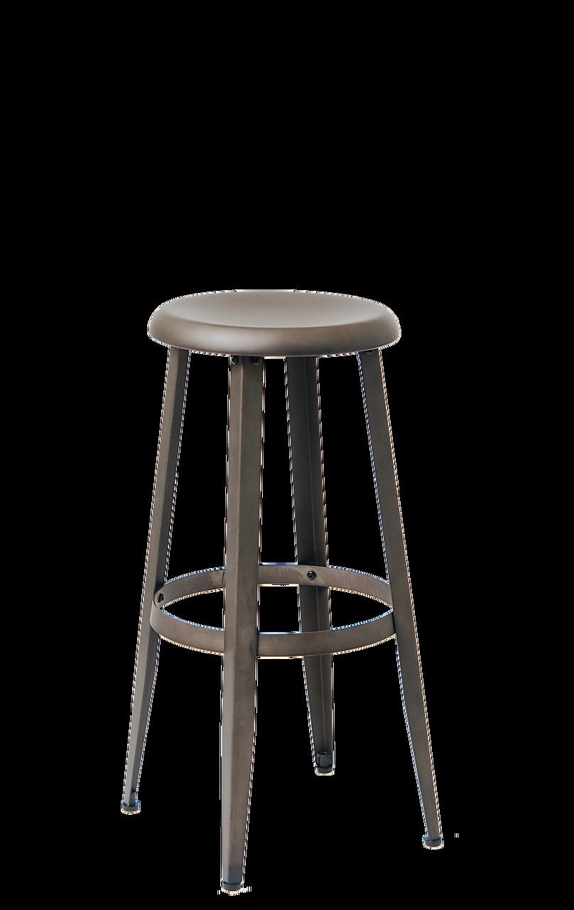 Gunmetal Bar Stool Round Metal Bar Stool Seats And Stools