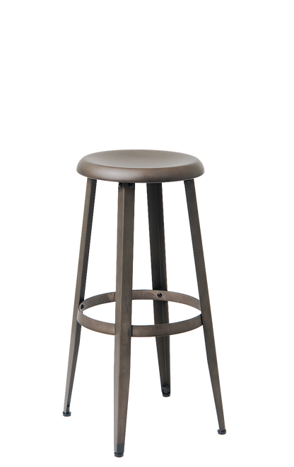 Gunmetal Bar Stool Round Metal Bar Stool Seats And Stools