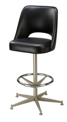 Open Back Bucket Bar Stool | Seats and Stools