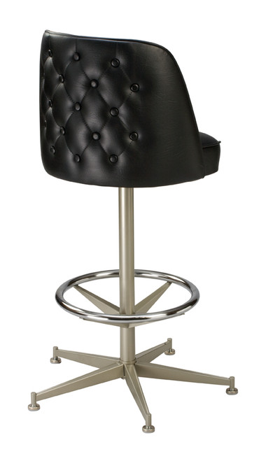 Tufted Bar Stool Bucket Swivel Bar Stool Seats And Stools