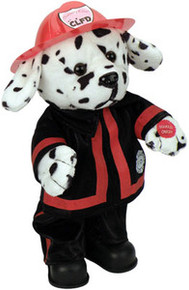"Fire Fighter Dalmation ""Blaze"": Dancing and Singing ""I Fell into a burning ring of fire"""