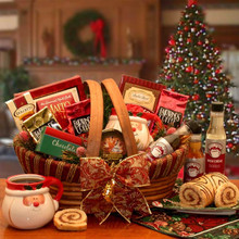 The Holiday Barista Gourmet Coffee Gift Basket