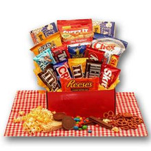All American Favorites Snack Care Package