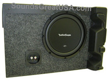 FORD F150 2004-08 SuperCrew Supercab Subwoofer box Enclosure FTX110 FREE SHIPPING!