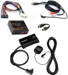 Complete SiriusXM Satellite Radio Plus AUX INPUT (iPod etc) Package for Lexus Vehicles Sirius XM