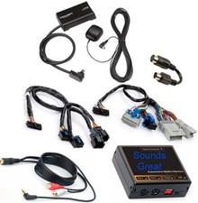 Complete SiriusXM Satellite Radio Plus AUX INPUT (iPod etc) Package for CADILLAC Vehicles Sirius XM