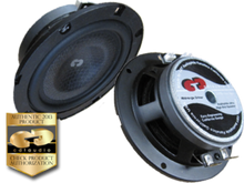 "4"" CL-4SL CDT Audio Ultra Slim Mid-Woofer (Pair)"