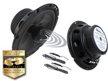 """6.5"""" CL-6CX.2 CDT Audio 2 Ohm Coaxial Speaker Pair w Crossover & Swivel Tweeter"""