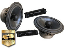 "6.5"" DRT-26CXS.2 CDT Audio 2 Ohm 2-Way Cast Alloy Coaxial Speaker Pair"