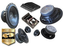 "6.5"" CL-632 CDT Audio 3-Way Component Speaker Set"