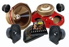 6x9 CL-69COM3 CDT Audio 3 Way Component Speaker System