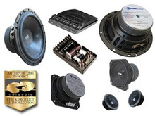 "6.5"" CL-642 CDT Audio 3-Way Component Speaker Set"
