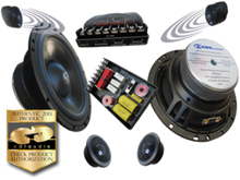 "6.5"" CL-62PRO CDT Audio 2-Way Classic Component Speaker System w 2nd Pair of Imaging Tweeters"