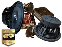 "8"" HD-82 CDT Audio 2 Way Component Speaker System"