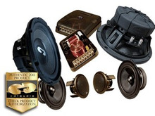 "8"" HD-842 CDT Audio 3 Way Component Speaker System"