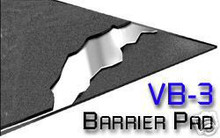 VB-3 Cascade Barrier Pad w Lead Septum 12 sq ft VB3 NEW