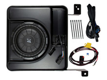 KICKER SSICRE14 SubStage Powered Sub Upgrade for 2014-16 Chevy Silverado / GMC Sierra Crew Cab 1500/2500/3500