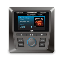 AWMC3-SXV All Weather Bluetooth Source Unit for Marine, ORV, ATV, UTV etc. by MTX, SiriusXM Tuner INCLUDED