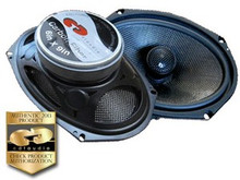 HD-690CFX.2  CDT Audio Carbon Fiber Coaxial Speakers 2 Ohm Version