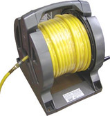 "Power Port HC38100-ORS - 3/8"" x 100' Air Tool Hose On A Reel"