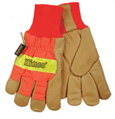 Kinco 1938KW - Insulated Lined Pigskin Knit Wrist Gloves
