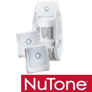 nutone 391 6 gallon replacement bags for central cleaning vacuum system 3pcs
