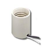 Leviton 8756-J - 1-Piece High Intensity Discharge Porcelain Keyless Mogul Base Lampholder