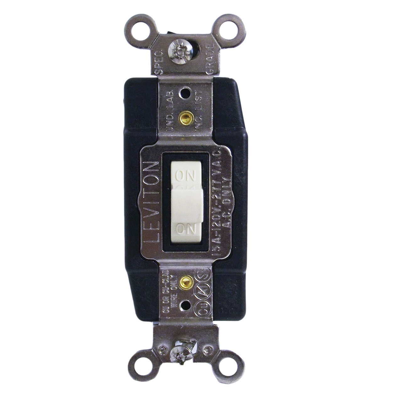 Leviton 1256-i  277v Toggle Double