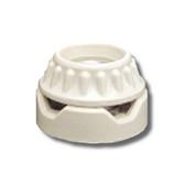 Leviton 9880 - 2-Piece Surface Type Porcelain Keyless Medium Base Lampholder