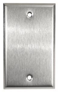 Leviton 84014 - 1-Gang No Device Blank Wallplate