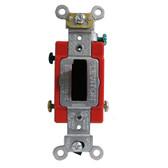 Leviton 1222-2 - 20A, 120/277V Toggle Double Pole AC Quiet Switch
