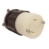 Leviton 2413 - 20 Amp, 125/250 Volt 3 Pole Locking Connector